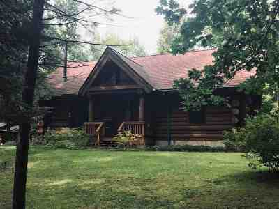 Marinette County Single Family Home Active-No Offer: W7739 E 26th