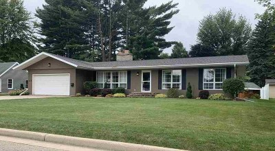 Shawano Single Family Home Active-Offer W/Bump-Show: 111 Lange