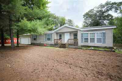 Shawano Single Family Home Active-Offer No Bump: N7076 Sherwood