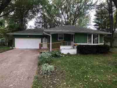Shawano Single Family Home Active-No Offer: 1121 Valley