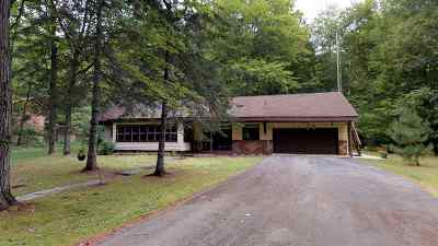 Lakewood WI Single Family Home Active-No Offer: $139,900