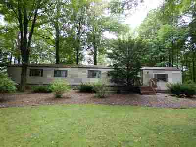 Marinette County Single Family Home Active-No Offer: W5469 Reif