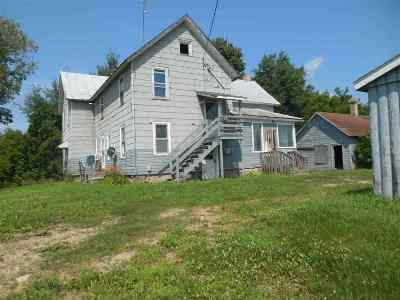 Shawano Single Family Home Active-No Offer: W11840 Hwy 29