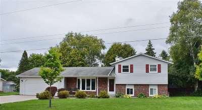 Green Bay Single Family Home Active-No Offer: 1251 Carole