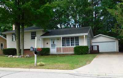 Shawano Single Family Home Active-No Offer: 913 S Prospect