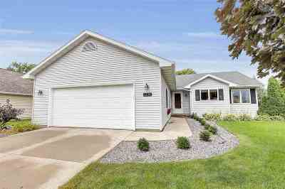 Menasha Single Family Home Active-No Offer: 1224 Bluegrass