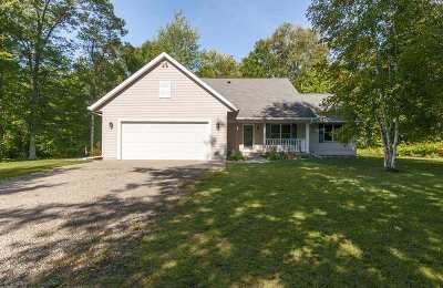 Marinette County Single Family Home Active-No Offer: W2671 Woodview