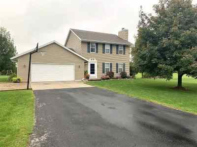 Oconto County Single Family Home Active-No Offer: 542 Highland Meadow