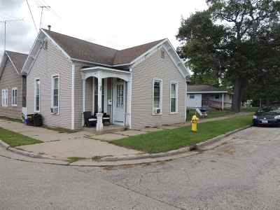 Marinette Single Family Home Active-No Offer: 1001 Cook