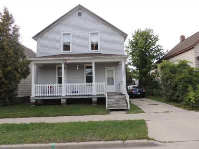 Marinette Multi Family Home Active-No Offer: 1323 Shore