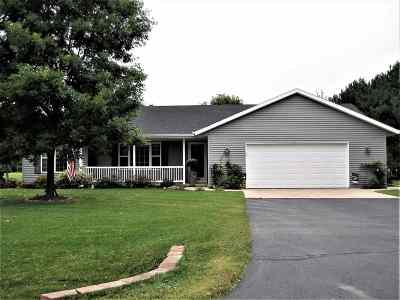 Oconto County Single Family Home Active-No Offer: 795 Hilbert