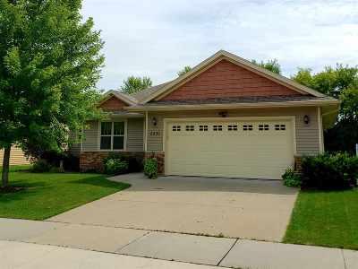 Green Bay Single Family Home Active-No Offer: 2531 Stone Meadows