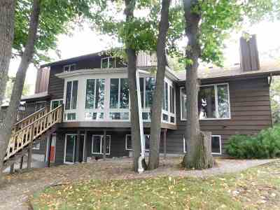 Menasha Single Family Home Active-No Offer: 1096 Lakeshore