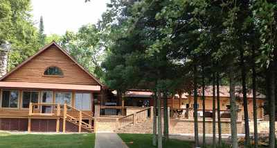 Marinette County Single Family Home Active-No Offer: W5969 Lake