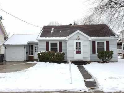 Waupaca Single Family Home Active-No Offer: 451 Granite