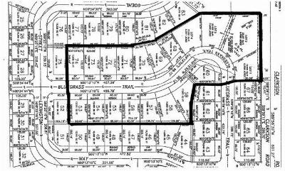 Waterloo Residential Lots & Land For Sale: 19 Lots Bluegrass Tr