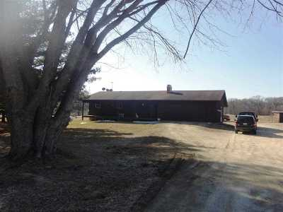 Beloit Single Family Home For Sale: 9723 W County Road H