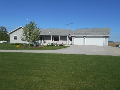Dodge County Single Family Home For Sale: W11215 Bedker Dr