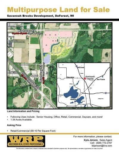 Residential Lots & Land For Sale: 4130 Savannah Dr