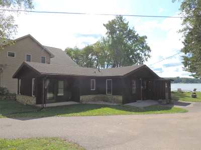 Poynette Single Family Home For Sale: N3289 Tipperary Point Rd