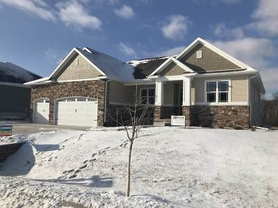 Deforest Single Family Home For Sale: 7820 Bluestem Tr