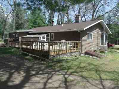 Adams WI Single Family Home For Sale: $127,900