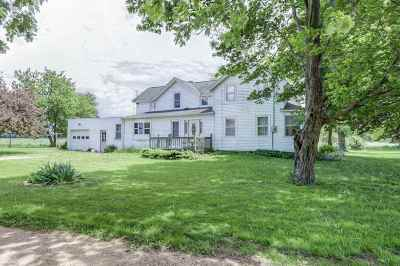 Columbus Single Family Home For Sale: N276 County Road A