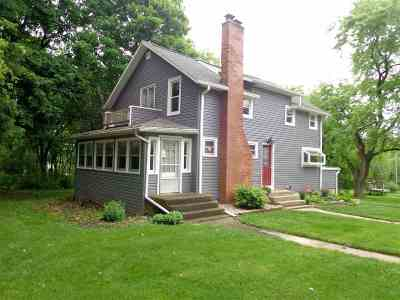 Beloit Single Family Home For Sale: 2584 S Madison Rd