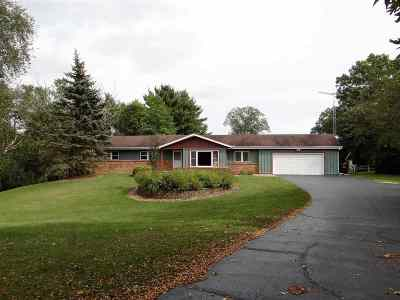 Janesville Single Family Home For Sale: 5702 N Ridge View Dr