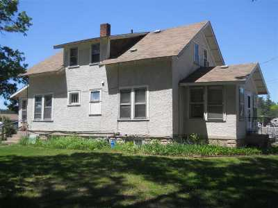 Adams WI Single Family Home For Sale: $54,900