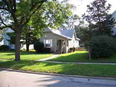 Beloit WI Single Family Home For Sale: $44,800