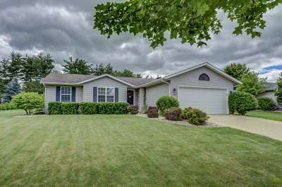 Marshall Single Family Home For Sale: 435 Meadowview Ln