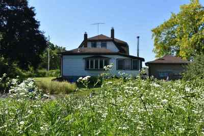 Jefferson Single Family Home For Sale: N3485 Bente Rd