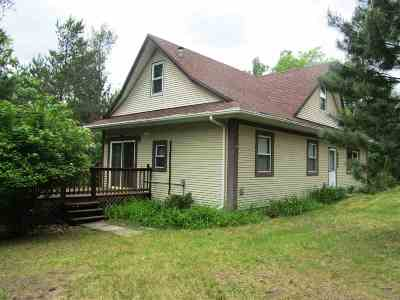 Friendship WI Single Family Home For Sale: $115,000