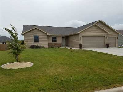 Evansville Single Family Home For Sale: 625 Prairie View Dr