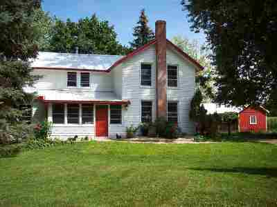 Milton Single Family Home For Sale: 9946 N Clear Lake Rd