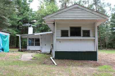 Friendship WI Single Family Home For Sale: $34,900
