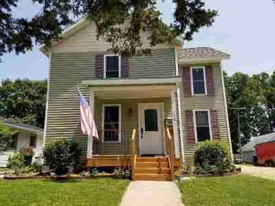 Evansville Single Family Home For Sale: 118 S 1st St