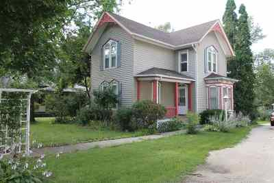 Milton Single Family Home For Sale: 510 E Madison Ave