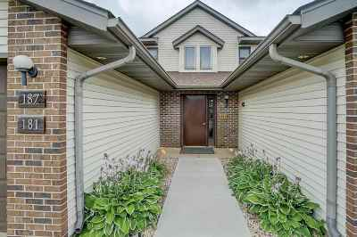 Sun Prairie Condo/Townhouse For Sale: 187 Talon Pl