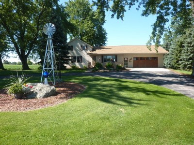 Columbus Single Family Home For Sale: W231 County Road D