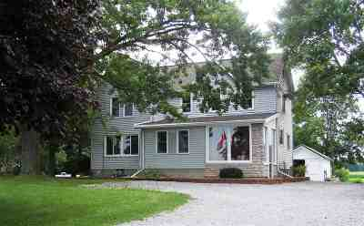 Columbus Single Family Home For Sale: N348 Hwy 89
