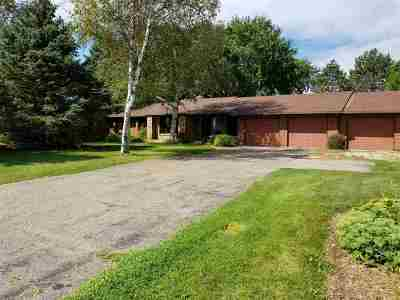 Deforest Single Family Home For Sale: 6943 Portage Rd