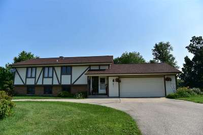 Janesville Single Family Home For Sale: 5226 N County Road F