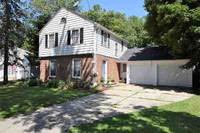 Beloit Single Family Home For Sale: 1835 Strong Ave