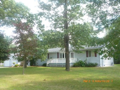 Adams WI Single Family Home For Sale: $169,900