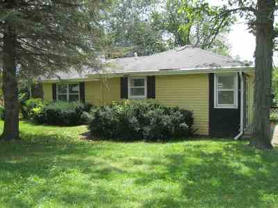 Beloit Single Family Home For Sale: 7817 W Hwy 81