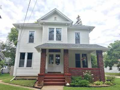 Beloit Single Family Home For Sale: 208 Bluff St