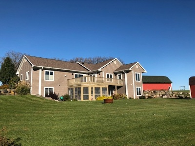 Dodge County Single Family Home For Sale: N6420 Burns Rd