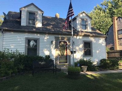 Beloit Single Family Home For Sale: 823 McKinley Ave